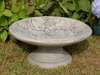 Vine Motif Bird Bath