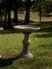 Fine Cast Oakleaf Bird Bath