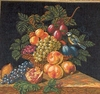 Fruit Basket Tapestry Cushion Cover
