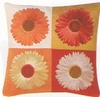 Gerberas Fleurs Tapestry Cushion Cover