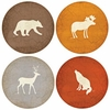 Set of  4 Adirondack Stone Coasters