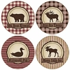 Set of 4 Hunter's Retreat Stone Coasters