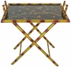 Hand Painted Folding Tray Stand