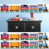 Personalized Wall Border - Trains