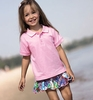 Little Girl Rabbit Skin Golf Shirt