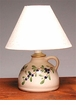 "Blueberry Lamp with Shade - 10""H"