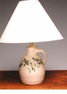"Blueberry Jug Lamp - 18""H"