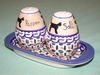 Salt & Pepper Shakers - Pattern 12
