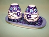 Salt & Pepper Shakers - Pattern 28