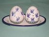 Salt & Pepper Shakers - Pattern 45