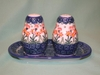 Salt & Pepper Shakers -Pattern A14