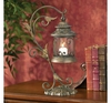 Leaf and Vine Scroll Candle Lantern