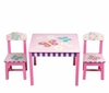 Girl's Butterfly Table and Chairs