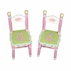 Girl's Swan Lake Set of 2 Chairs