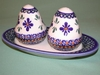 Salt & Pepper Shakers - Pattern 18