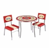 Retro Racers Table & Chairs Set