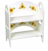 Girl's Sunflower Stackable Shelf/Bookcase