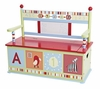 Alphabet Animals Toy Box Bench
