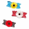 Daisy Aqua Fashion Garter