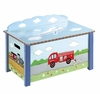 Boy's Transportation Toy Box/Chest