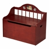 Kid's Spindle Toy Chest - Cherry