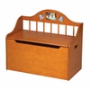 KId's Spindle Toy Chest - Honey