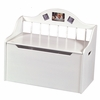 Colonial Spindle Toy Chest - White