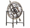Decorative Tall Iron Steampunk Globe