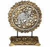 Large Mirror Mosaic Tabletop Medallion