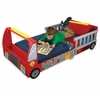 Toddler's Firetruck Bed