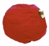Large Fun Red Beanbag - Micro Suede