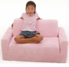 Pink Chenille Sofa Sleeper