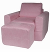 Pink Chair Sleeper - Micro Suede
