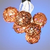 Rattan Ball Party String Lights