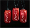 Coca-Cola Cans 10-Light String Lights