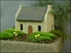 Miniature French Farm Stone Cottage