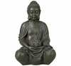 Solar LED Sitting Buddha Sculpture