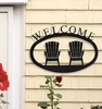 Wrought Iron Welcome Signs