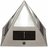Solar Pyramid Post Cap Light