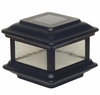 Colonial Black Solar Outdoor Post Light