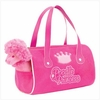 Princess Plush Poodle Carrier