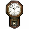 Vienna Brown Pendulum Wall Clock