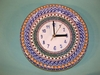 Polish Wall Clock - Unikat Pattern 02
