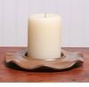 Earthware PIllar Candle Holder