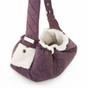 Quilted Pet-Sling Carrier - Purple