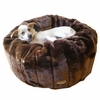 Caramel Cocoa Beddy-Ball Dog Bed