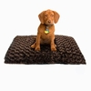 Chocolate Swirl Plush Pet  Cushion