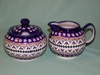 Sugar & Creamer Set - Pattern 05