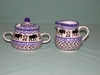 Polish  Sugar & Cream Set - Pattern 20