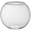 "10"" Glass Bubble Ball  Bowl - Clear"
